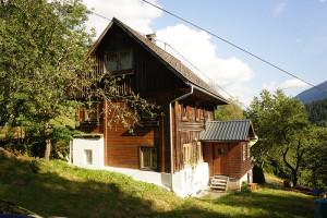 Ferienhütte mit Panorama